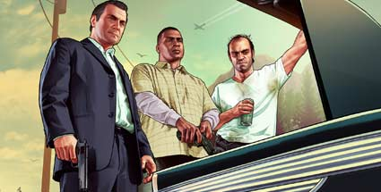 GTA 5 Actionspiel von Rockstar Games fr PS3 und Xbox 360 (Quelle: Rockstar Games)
