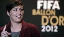 Abby Wambach ist die Weltfuballerin des Jahres 2012.