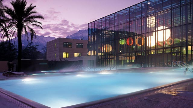 Europas schnste Thermen: Wellness und Spa