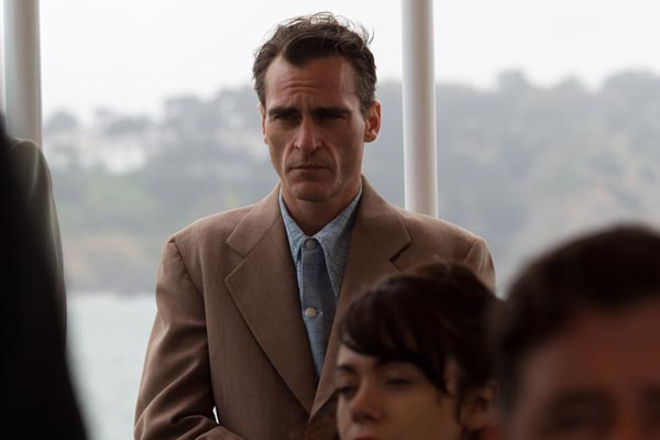 Nominiert fr drei Oscars: &quot;The Master&quot; mit Joaquin Phoenix und Philip Seymour Hoffman (Quelle: Senator)