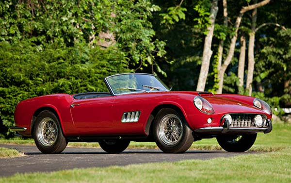 Ferrari 250 California Spider (Quelle: Hersteller/classic-car-tax)