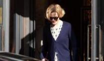 Nicole Kidman in Genua, wo ihr neuer Film &quot;Grace of Monaco&quot; gedreht wird.
