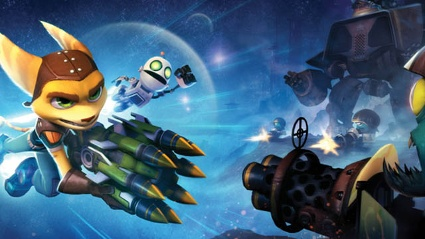 Ratchet & Clank: Q-Force Jump'n'Run-Actionspiel von Sony für PS3 und Playstation Vita (Quelle: Sony)