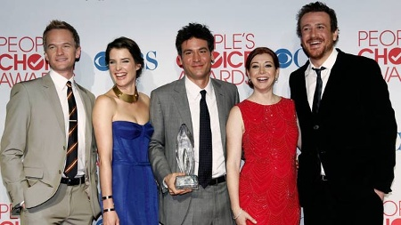 "Die Stars von ""How I Met Your Mother"" (Quelle: dapd)"