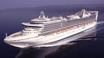 "Die ""Golden Princess"". (Quelle: Princess Cruises)"