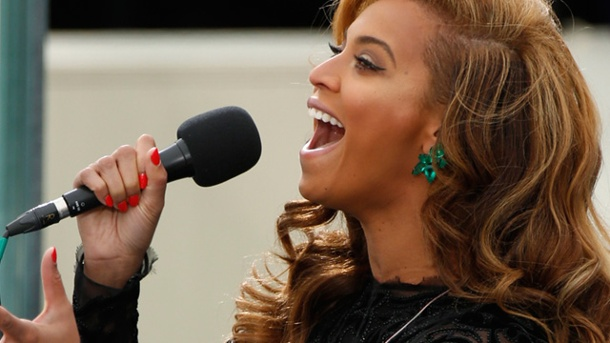 Beyonce: Es war Playback. Beyonce gesteht: Die Nationalhymne war Playback. (Quelle: Reuters)
