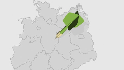 Deutschland-Dart: Wie gut kennen Sie die Deutschland? (Quelle: t-online.de)