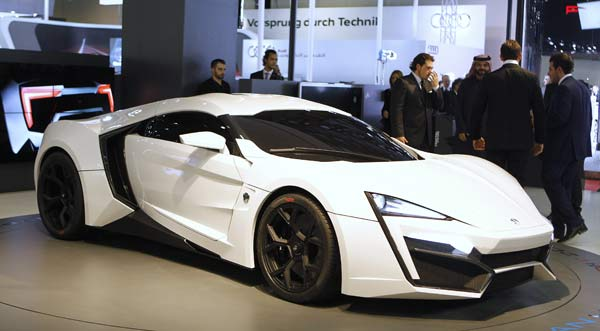 Lykan Hypersport (Quelle: Reuters)