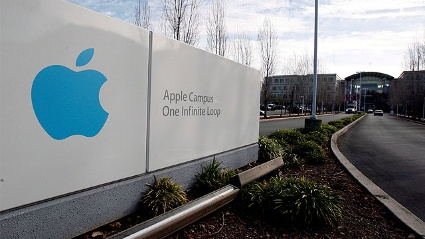 Firmenzentrale von Apple in Cupertino, Kalifornien (Quelle: dpa)