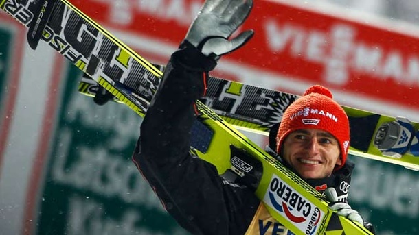 Skispringen: Richard Freitag siegt in Oberstdorf. Richard Freitag (Quelle: Reuters)