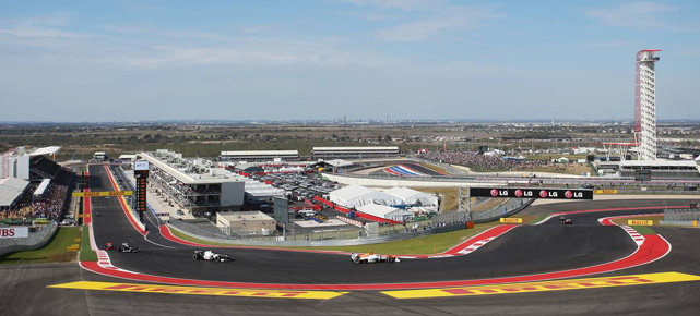 Der Circuit of the Americas in Austin, Texas. (Quelle: xpb)
