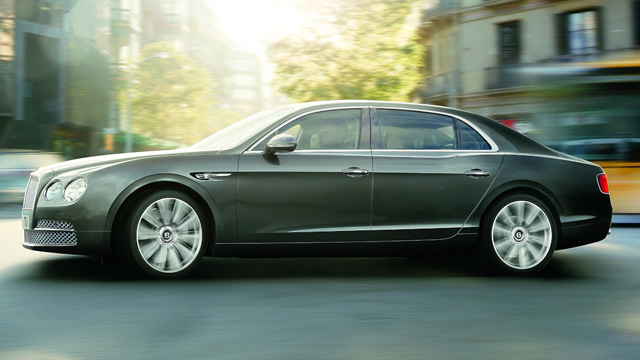 Bentley Flying Spur: Luxuslimousine mit Premiere auf dem Autosalon Genf 2013