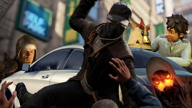 PS4-Games: Watch Dogs, Killzone und Co. in der Trailer-Show. PS4: Games (Quelle: Sony / Ubisoft / Capcom (Montage: www.t-online.de))