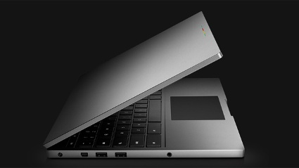 Mit dem Chromebook Pixel stt Google in die Kategorie der teuren Edelnotebooks vor. (Quelle: Google)
