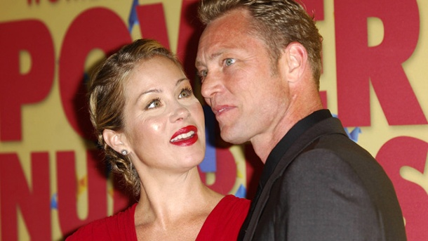 Christina Applegate hat wieder geheiratet. Haben geheiratet: Christina Applegate und Martyn LeNoble (Quelle: imago/PicturePerfect)