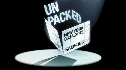 Einladung von Samsung: Ready 4 the show. Come and meet the next Galaxy. (Quelle: Samsung)