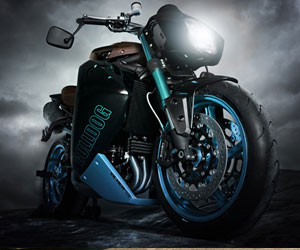 Vilner Custom Bike Bulldog. Vilner Custom Bike Bulldog. (Quelle: Hersteller)