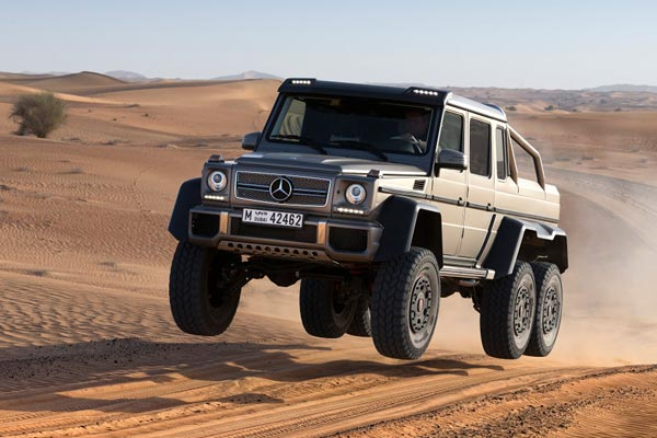 Mercedes G 63 AMG 6x6 (Quelle: Press Inform)
