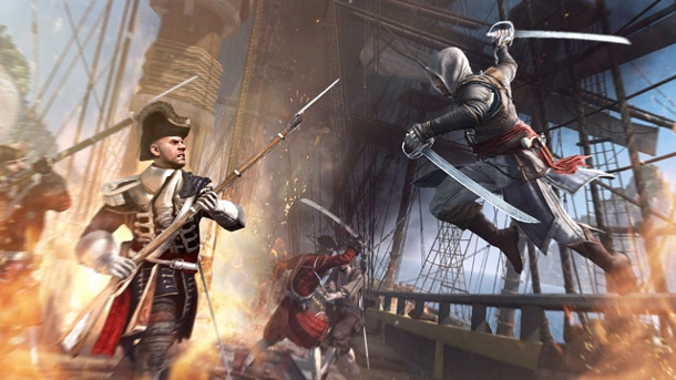 Ubisoft schafft Online-Pässe ab. Assassin's Creed 4: Black Flag (Quelle: Ubisoft)