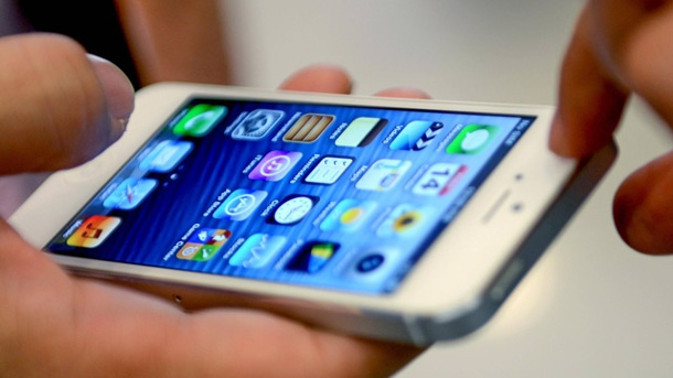iPhone 5S bekommt wohl gleiches Display wie iPhone 5. Apple iPhone 5 (Quelle: imago/Xinhua)