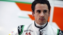 Adrian Sutil ist zurck bei Force India. (Quelle: imago/Crash Media Group)