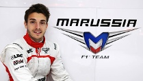 Jules Bianchi fährt 2013 für Marussia. (Quelle: imago/Crash Media Group)