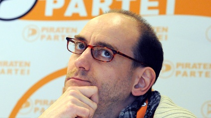 Umstritten: Piraten-Chef Johannes Ponader (Quelle: dpa)