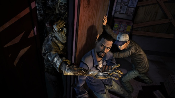 The Walking Dead im Ethikunterricht einer norwegischen Schule. The Walking Dead  (Quelle: Telltale)
