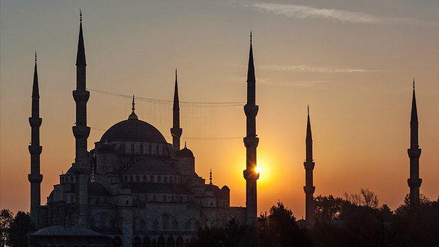 Istanbul: Blaue Moschee fhrt 