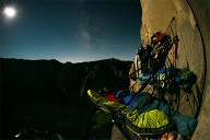 Portaledge am El Capitan. (Quelle: Archiv Craig DeMartino)