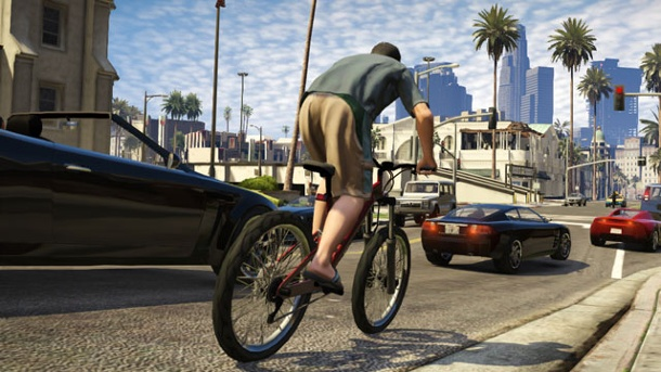 GTA 5: Neue Wallpaper von Rockstar Games zum Download. Grand Theft Auto 5 (Quelle: Rockstar Games)