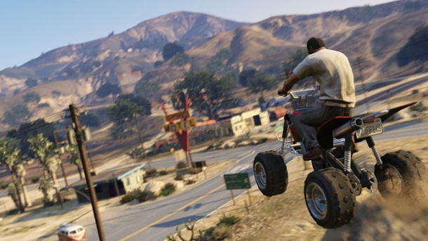 GTA 5: Neue Bilder zeigen Highspeed-Action. Grand Theft Auto 5 (Quelle: Rockstar Games)