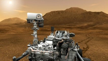 Mars,Curiosity (Quelle: dpa)