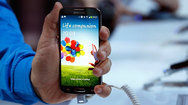 Samsung Galaxy S4: Release am 27. April bestätigt. Samsung Galaxy S4 (Quelle: Reuters)