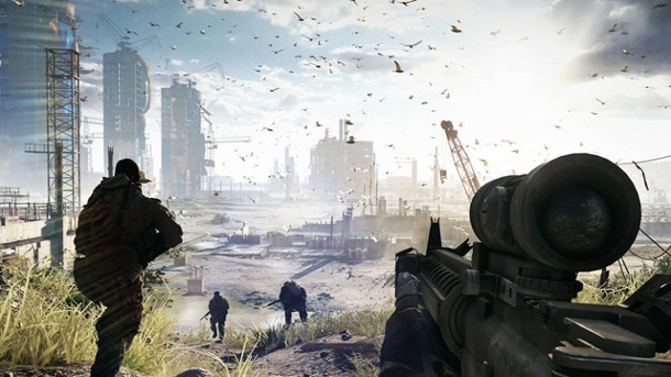 Battlefield 4: Gameplay-Video zeigt Multiplayer-Schlacht um Schanghai. Battlefield 4 (Quelle: EA)