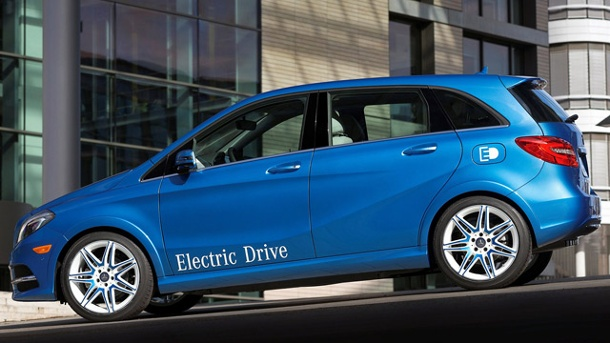 Mercedes B-Klasse Electric: Mercedes enthüllt neues Elektroauto. Mercedes B-Klasse Electric (Quelle: Hersteller)