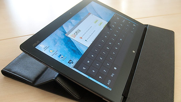 Asus VivoTab im Test - 11-Zoll-Tablet mit Windows 8. Asus VivoTab im Test (Quelle: t-online.de)