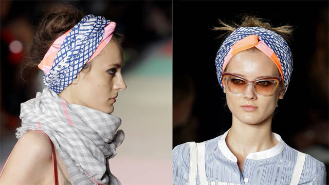 Bandana 2013: Coole Sommer-Frisur mit Tuch
