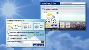 Holen Sie sich das Wetter auf Ihre Webseiten (Quelle: wetter.info)