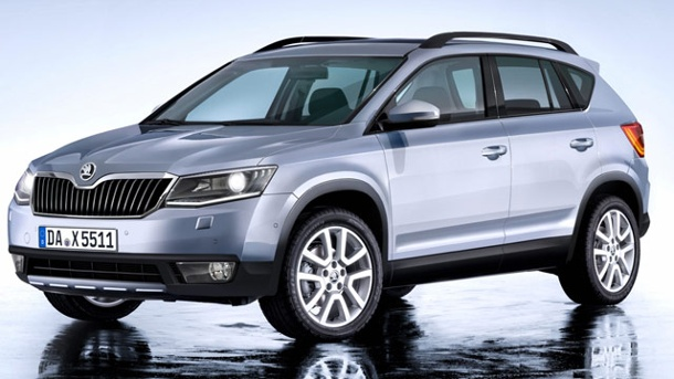 skoda snowman neues suv auf basis des vw tiguan. Black Bedroom Furniture Sets. Home Design Ideas