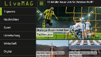 LiveMag gibt es jetzt fr Android, iPad und iPhone. (Quelle: t-online.de)