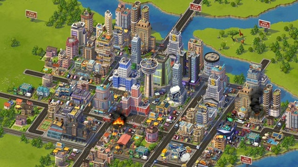 Electronic Arts knipst Facebook-Spiele Sim City Social & Co. aus. Sim City Social Browserspiel von Playfish  (Quelle: Electronic Arts)