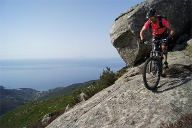Mountainbiken auf Elba. (Quelle: World of MTB / Patrick Wiedemann)