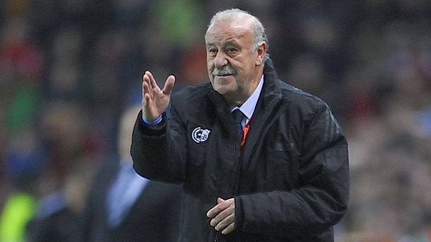 Vicente del Bosque glaubt noch an Real und Barcelona. Spaniens Nationaltrainer Vicente del Bosque. (Quelle: imago/ZUMA Press)