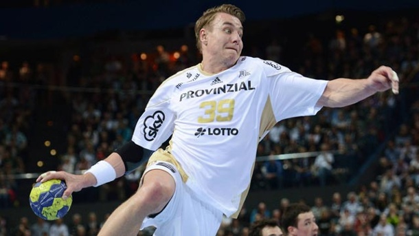 Handball: Vier deutsche Teams erreichen Final-Four. THW-Star Filip Jicha in Aktion. (Quelle: imago\Objectivo)