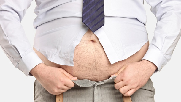 Fitness: Jeder hat ein Sixpack. Fitness: Unter dem Fett liegt das Sixpack. (Quelle: Thinkstock by Getty-Images)