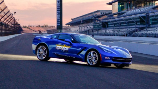 Chevrolet Corvette C7: Stingray als Pace Car. Chevrolet Corvette C7: Stingray als Pace Car (Quelle: Hersteller)