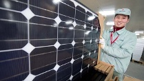 Solarmodule aus China (Quelle: dpa)