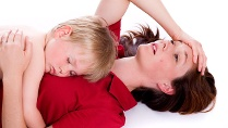 Kinder sind für jede zweite Mutter ein Stressfaktor. (Quelle: Thinkstock by Getty-Images)