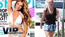 Britney Spears pltzlich gar nicht mehr so schlank (Screenshot: BitProjects)